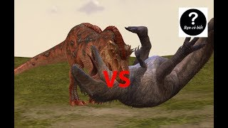 Khủng long bạo chúa T-rex vs Giganotosaurus, con nào sẽ thắng #13|| Bạn Có Biết?
