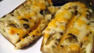 Receta de Berenjena con queso