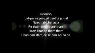 Nagada Sang Dhol Lyrics Ram Leela