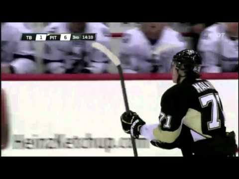 Evgeni Malkin incredible goal. February 25th 2012