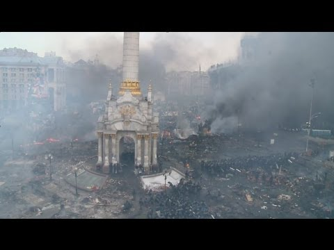 Ukraine Clashes: Morning after the night before - BBC News