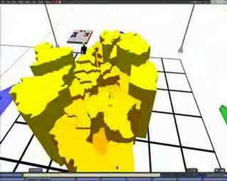 Geographic Data in Second Life