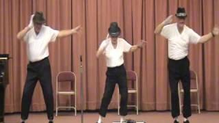 Seniorzy tańczą do piosenki Jacksona!