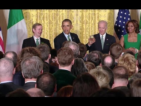 Remarks at the 2014 White House St. Patrick's Day Reception