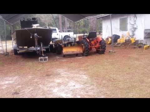 Big ten Allis Chalmers garden tractor Big 10