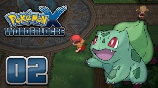 Pokémon X Wonderlocke Episode 2 Kanto Capers!