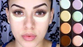 Cubrir imperfecciones con maquillaje