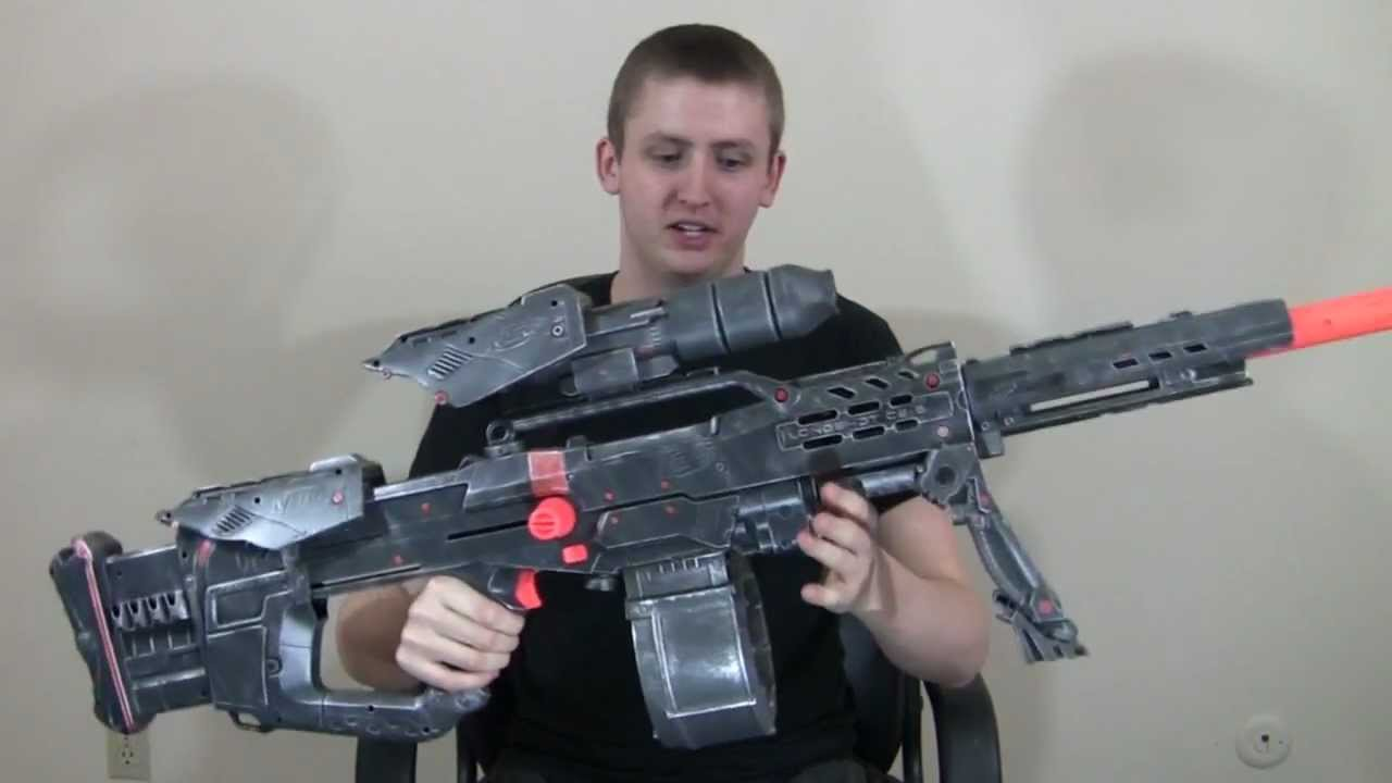 Mod Vladof Sniper Rifle Replica Nerf Longshot Youtube