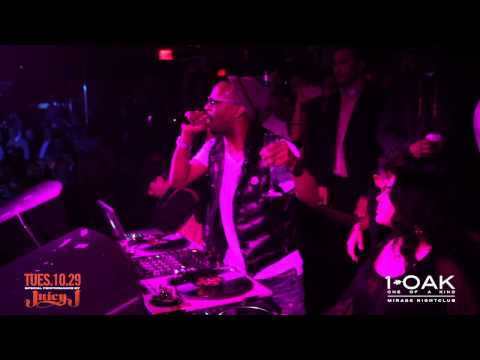 Juicy J Performing Live at 1 OAK Nightclub