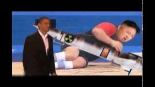 parodi lucu Kim Jong Un vs Obama