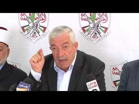 العالول: جرائم الاحتلال قد تنهي سلمية المقاومة