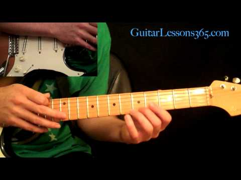 Motley Crue - Dr. Feelgood Guitar Lesson Pt.3 - Main Guitar Solo
