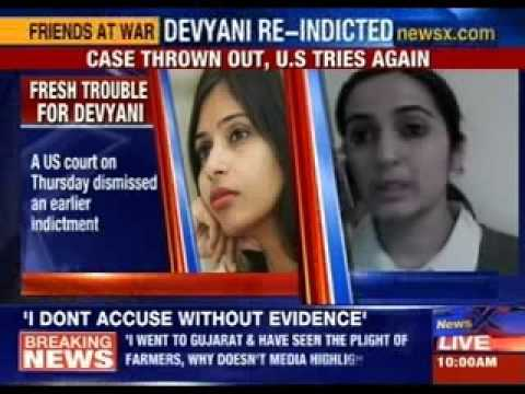 Devyani knowingly gave false information in domestic worker's visa form?