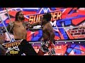 Xavier Woods viciously defends the SmackDown Tag Team Titles SummerSlam 2017 Kickoff Match