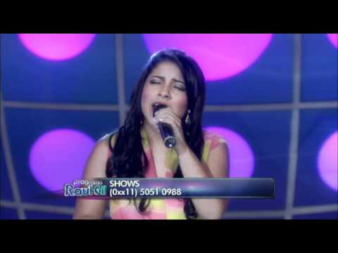 Posso Clamar - Gabriela Rocha - Eyshila no Programa Raul Gil - Homenagem ao Artista Full HD