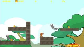 Tom And Jerry Gameplay, Tom And Jerry Xtreme Level 1-4