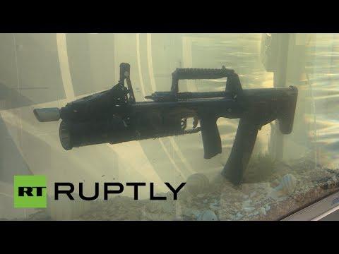 Gunderwater: Russia unveils first ever amphibious assault rifle
