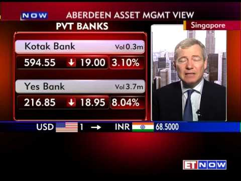 ET NOW Exclusive : Peter Elston, Asia Strategist, Aberdeen Asset Management Asia