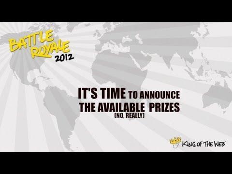 Battle Royale Prize Announcement