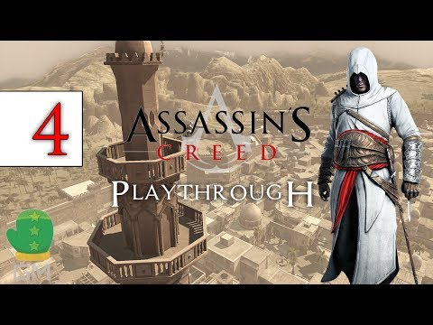 Assassin's Creed - Playthrough EPISODE 4 - Tamir, The Black Market Merchant (PC GAMEPLAY)