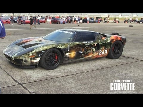 257.7mph Ford GT - World Record - Texas Mile 2012
