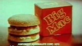 1975 McDonalds Commercial Two All Beef Patties Special