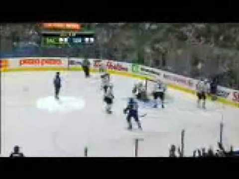 Jason Blake Goal # 7 12-23-08 Dallas Stars @ Toronto Maple Leafs