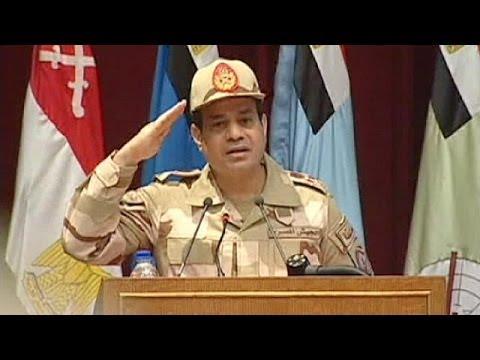 Le maréchal Abdel Fattah al Sissi candidat à la présidentielle égyptienne