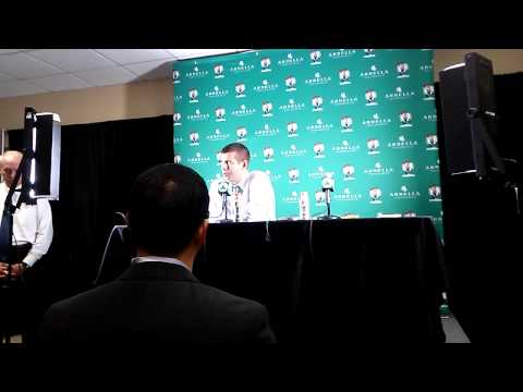 Celtics-Magic Postgame (11-11-13): Brad Stevens Interview
