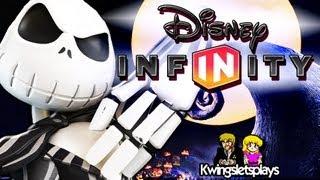 Disney Infinity Wii U Jack Skellington Gameplay