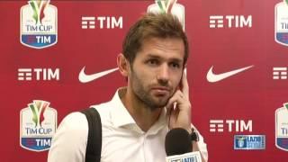 L'analisi di Senad Lulic nel post partita di Juventus-Lazio