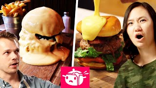 We Tried To Re-Create This Cheese-Covered Burger