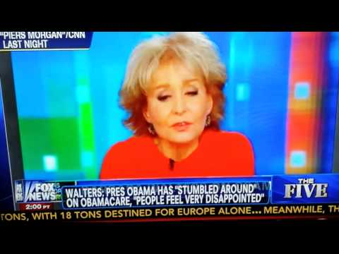 Barbara Walters discovers Obama's not the Messiah.