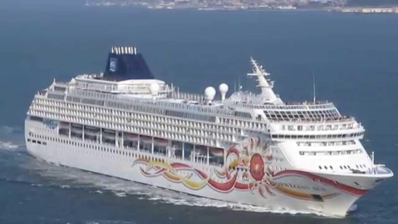 Norwegian Sun Cruise Ship San Francisco Bay California
