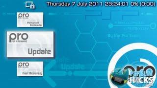 PSP 6.60 PRO B9, B10 CFW Installation [Very Easy] (PSP