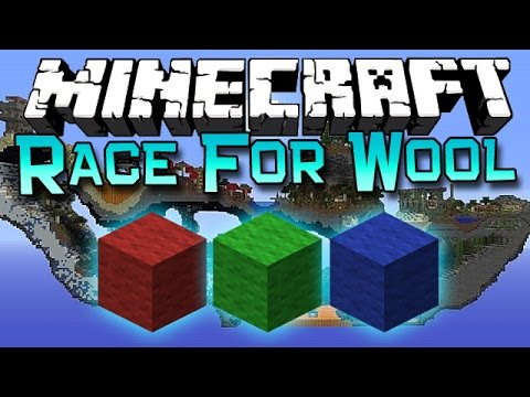 Minecraft: Race For Wool with ASF!