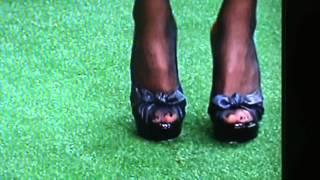 Natalie Morales Nylon Feet