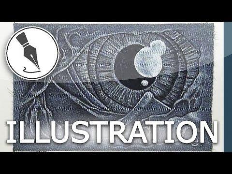 [Naruto Inspired Art/Tribute] Speed Art Drawing - 'Spiral Eye',