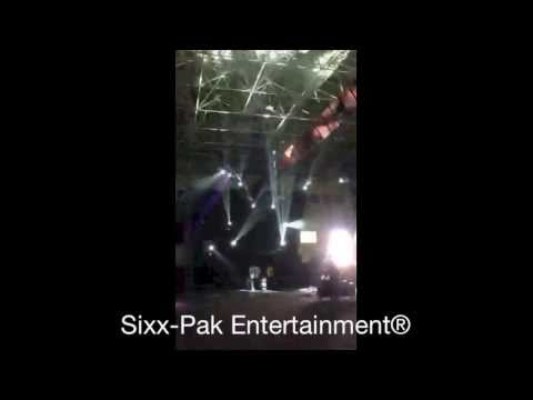 Sixx-Pak Entertainment® Concert Rig Set-Up at a Convention Center - Gig Log
