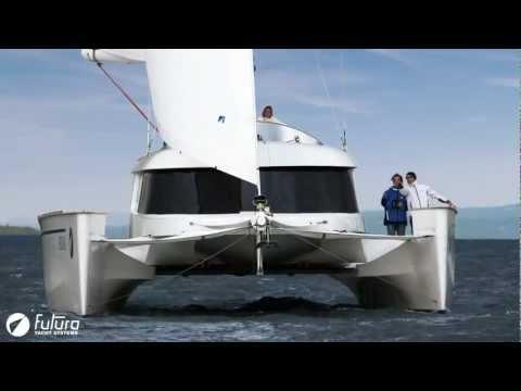 Impressionen des breitenvariablen Segel-Katamarans von Futura Yacht Systems