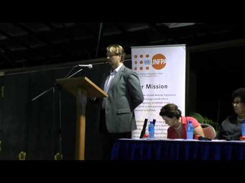 Mark Bryan Schreiner at the at the International Day of the Families 2014