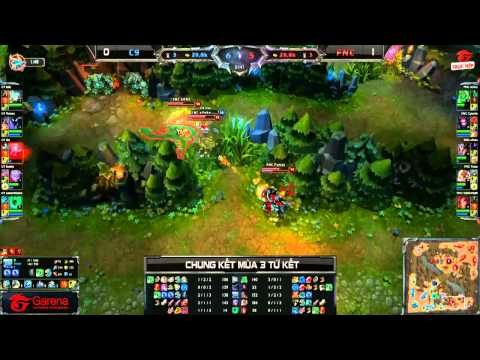 [CK Mùa 3] [Tứ Kết 1] Fnatic vs Cloud 9 [Game 2] [24.09.2013]