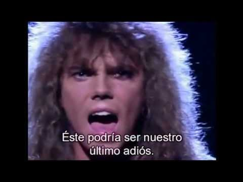 Europe- Carrie (subtitulada en Español ) HD