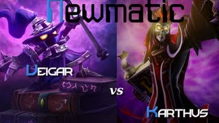 Mid Veigar vs. Karthus - AP Burst - Dedicated to jamieR11223