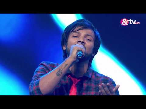 Sumit Bharadwaj - Performance - Knock Out Round Episode 16 - January 29, 2017 - The Voice India Season2