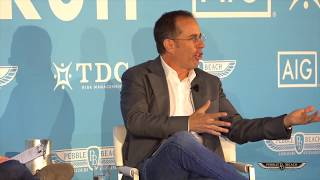 Full Forum: Jerry Seinfeld & Spike Feresten at the 2017 Pebble Beach Classic Car Forum