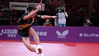 2013 World Table Tennis Championships Top 10 Shots