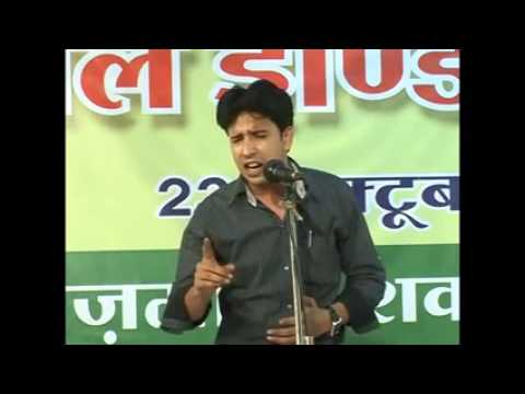 nadeem shad in ujjain mushaira outstanding performance