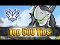 How GRANDMASTER Players DESTROY with Genji Overwatch Top 500 PRO Tricks Shadder2k