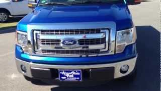 ? NEW 2013 Ford F-150 SuperCab XLT Blue Flame videos